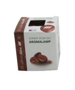 Vonné vosky Káva 8 kociek s esenciálnym olejom v palmovom vosku, vhodné pre malé aromalampy. Bez nebezpečných syntetických prísad. 100% prírodný