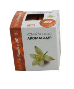 Vonné vosky Vanilka 8 kociek s esenciálnym olejom v palmovom vosku, vhodné pre malé aromalampy. Bez nebezpečných syntetických prísad. 100% prírodný