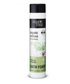 Organická pena do kúpeľa Provensálske byliny 500ml. Prírodná kozmetika, certifikovaná bez parabénov, silikónov, SLS a iných syntetických látok.