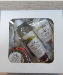 Darčeková sada OLIVOVNÍK 1 - darčeková prírodná kozmetika pre celú rodinu, VEGAN bez chémie. Bez živočíšnych tukov, synteticky, ropných derivátov, sulfátov