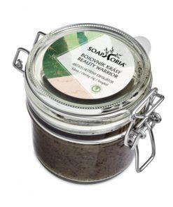Peeling Bojovník krásy, 100% prírodná kozmetika, organický telový peeling. Slovenská prírodná kozmetika, proti celulitíde.