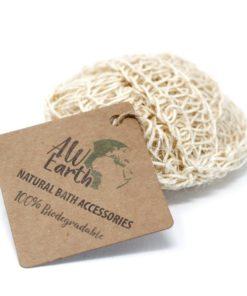 Sisalová špongia masážna - 100% prírodná, Zero waste. 100% rozložiteľná, biologicky odbúrateľná. Nezaťažuje prírodu zbytočným odpadom, dá sa kompostovať.
