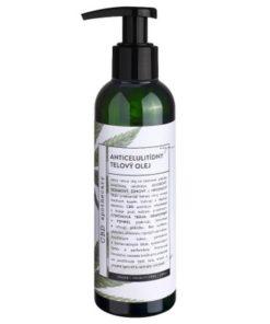 Anticelulídny telový olej 300MG CBD konopná kozmetika - 100% čisto prírodná slovenská konopná kozmetika. Na extrémne citlivú pleť, seboreu, ekzém