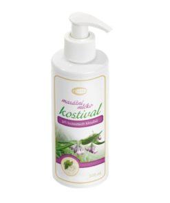 Kostihojové masážne mlieko - kĺby, pomliaždeniny, reuma - bez parabénov. Kostihoj je osvedčená bylina stáročia používaná v prírodnej kozmetike a medicíne.