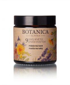 Maslo na ruky 9 divov kvetov - 100% prírodná slovenská kozmetika na hĺbkovú hydratáciu, výživu a regeneráciu namáhanej pokožky rúk.