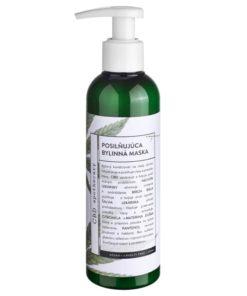 Posilňujúci bylinný kondicionér - maska 200MG CBD s pantenolom. 100% čisto prírodná slovenská konopná kozmetika. Na extrémne citlivú pleť, seboreu, ekzém
