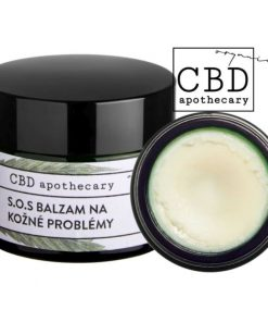 S.O.S konopný balzam na kožné problémy 300mg CBD. 100% čisto prírodná slovenská konopná kozmetika. Na zapareniny, akné, opary, podráždenú . Seborea na tvári