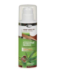 THERAPEUTIC konopné mlieko 17% s rakytníkom a rašelinou na ekzém - bez parabénov. (Cannabis Sativa). Česká prírodná kozmetika