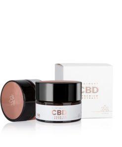 CBD univerzálna masť, 100% prírodná česká kozmetika. CBD izolovaný z extraktu konopy siatej je známy svojimi protizápalovými vlastnosťami