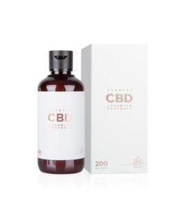 CBD konopný šampón s keratínom Essens - česká prírodná kozmetika. CBD izolovaný z extraktu konopy siatej je známy protizápalovými účinkami