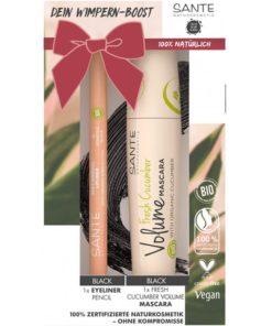 Darčekový set BIO dekoratívnej kozmetiky na citlivé oči pre dokonale oddelené riasy, 100% čisto prírodná dekoratívna kozmetika.