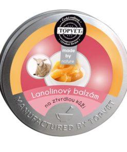 Lanolínový balzam na stvrdnutú kožu nôh a mozole rúk. Lanolín má vysokú schopnosť viazať vodu. Česká prírodná kozmetika na telo. Bez parabénov