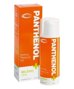 Pantenol mlieko telové rodinné aj pre deti - hojí a regeneruje po opaľovaní. Česká prírodná kozmetika bez parabénov. Pri ekzéme, popraskanej pokožke