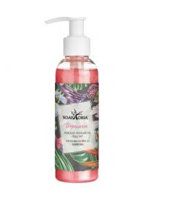 Tropicana sprchový gél, perleťový, LETNÝ, 100% čisto prírodná kozmetika značky Soaphoria. VEGAN. Bez obsahu sulfátov, silikónov a parabénov