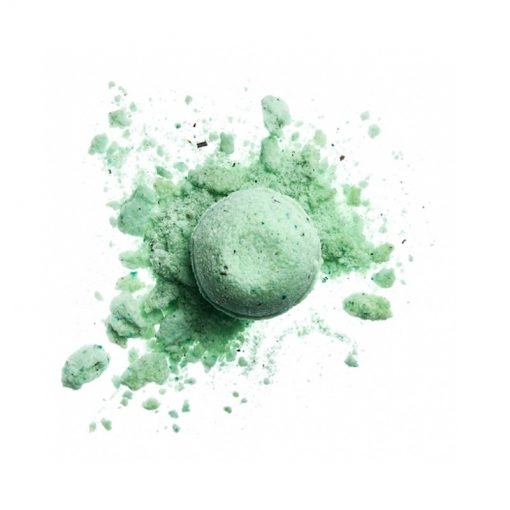 Magické bylinky guľa kúpeľová, prírodná kozmetika do kúpeľa s bylinkami. Šumivka s olejmi a bylinkami pre suchú pokožku a upokojenie