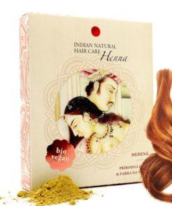 BIO Henna medená - 100% prírodná, vegánska kozmetika. Vlasy vyživuje a ošetruje, vždy je lepšie použiť práve čistú hennu
