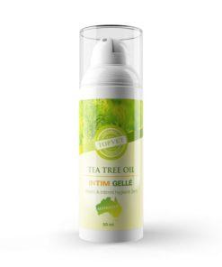 Tea Tree INTIM gel pre ženy - vaginálna mykóza a zápal. Antibakteriálny gél na intímnu hygienu ženy. Bez parabénov, prírodný
