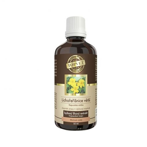 Kapucínka tinkúra liehové kvapky - imunita, nachladnutie, antioxidant. Podporuje normálnu funkciu dýchacieho systému a močových ciest