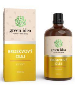 Broskyňový olej pleťový - elasticita pokožky. Prírodná pleťová kozmetika. Olej má upokojujúci, regeneračný a vyživujúci účinok.