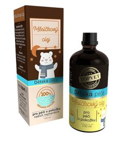 Detský nechtíkový olej pre bábätká pri zapareninách a citlivej pokožke