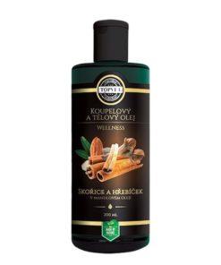 Wellness olej ŠKORICA s hrebíčkom na strie, celulitídu a krásnu pokožku