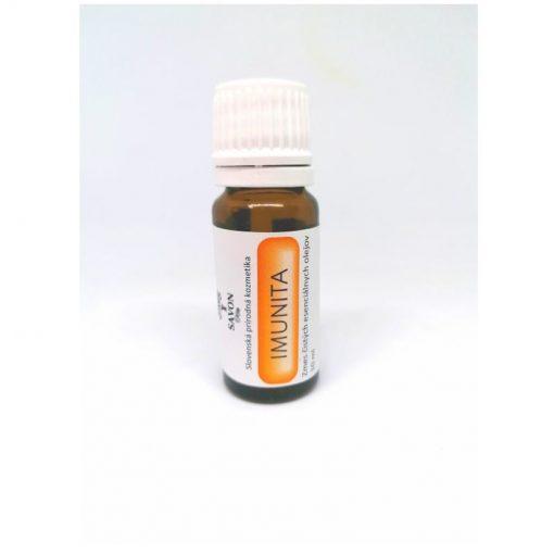 IMUNITA je zmes čistých silíc na posilnenie imunitného systému, povzbudzujúce a ochranné účinky na organizmus. Bez syntetických prísad